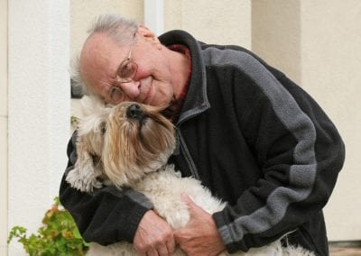 Elderly-Man-with-Dog