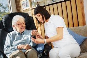 home care aide (HCA-C)
